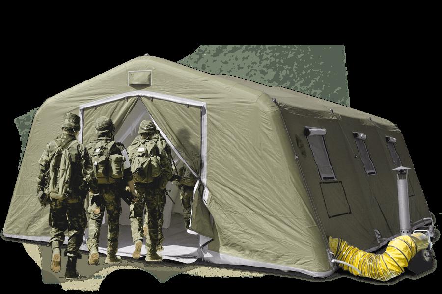 pgk high pressure pneumatci tent