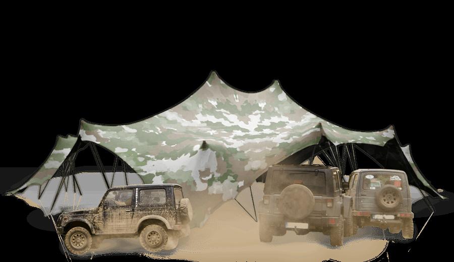 nixus stretch flexibile tent